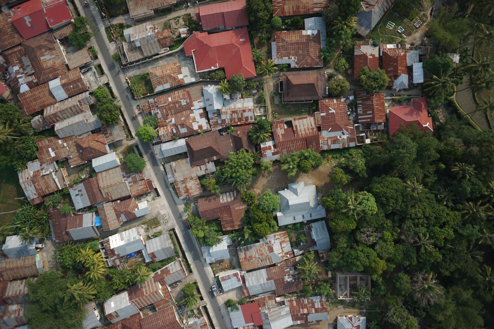 Survey Foto Udara menggunakan Drone di Padang