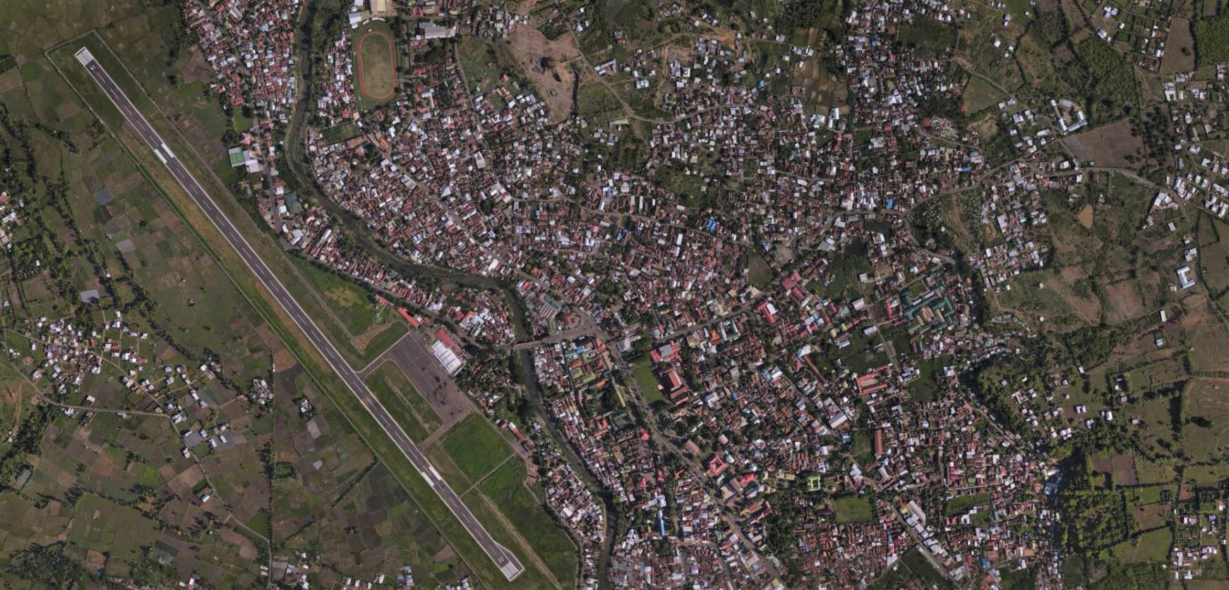 Akuisisi dan Pengolahan Foto Udara Kota Sumbawa