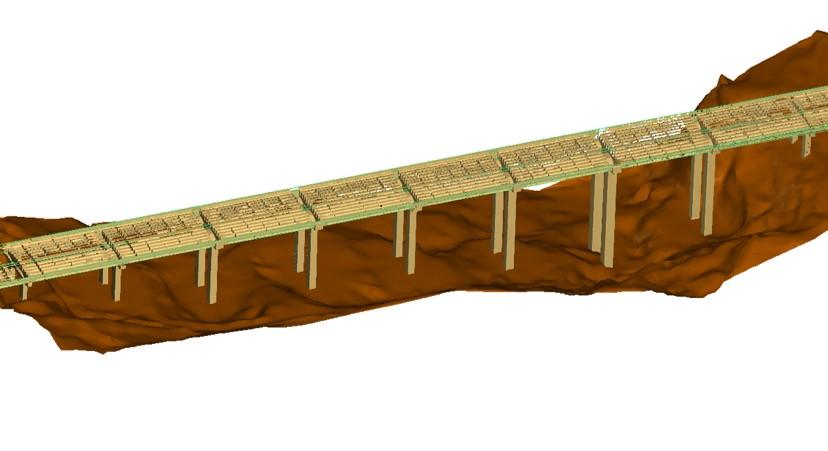 Pengukuran Deformasi Teliti Jembatan Penggaron